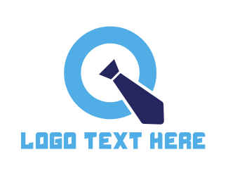 Officer - Professional Blue Letter Q logo design