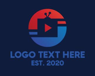 Tv - Sports TV Broadcast logo design