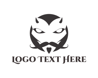 Beard - Elegant Devil logo design