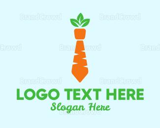 Carrot - Carrot Tie logo design