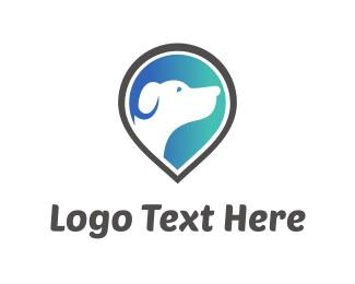 Vet - Dog Finder logo design