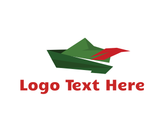 Green And Red - Green Hat logo design