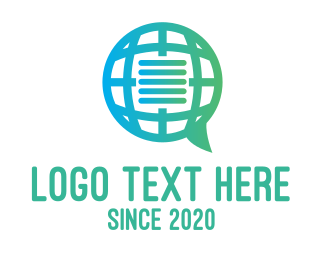 Text - Global International Message Communications logo design