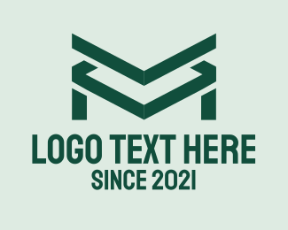 Letter M - Corporate Letter M logo design