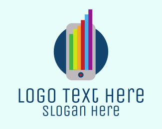 Mobile - Colorful Mobile logo design