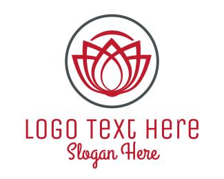Luxury - Luxury Flower logo design