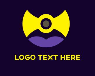 Symmetry - Yellow Shield logo design