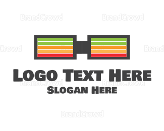 Current - Charge Geek Glasses logo design