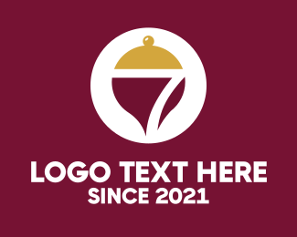 Take Out - Dining Buffet Number 7 logo design