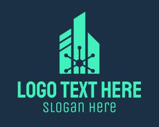 Science - Science Research Laboratory logo design