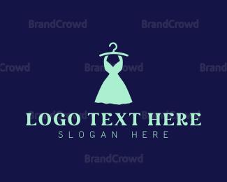 Fashion - Fashion Mint Dress logo design