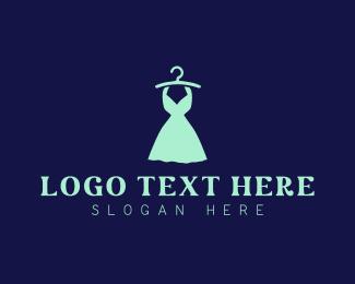 Showroom - Fashion Dress logo design