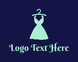 Hanger - Mint Dress logo design