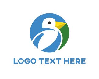 Agriculture - Bird Circle  logo design
