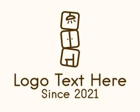 Interior - Home Interior Furnishing logo design