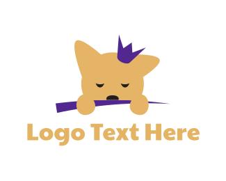 Puppy - Puppy Princess logo design