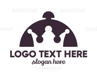 Cloche - Royal Food  logo design