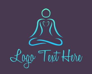 Healthy - Healthy Yoga  logo design