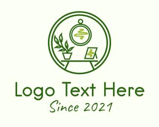 Simple - Green Furniture Store logo design