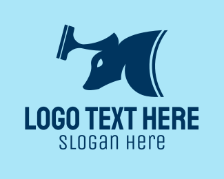 Cleaning - Cleaning Bull logo design