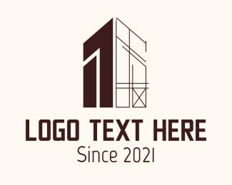 Construction Arrow Logo