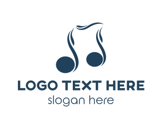 Melody - Blue Melody logo design