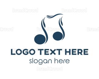 Tune - Blue Melody logo design