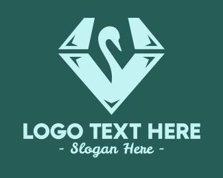 Swan - Swan Diamond logo design