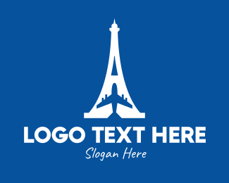 French - French Airline logo design