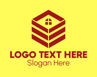 Moving Service - Box Package Realty logo design