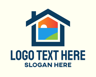 Bay - Sunset Bay Housing logo design
