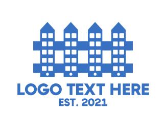 Carpentry - Fence App logo design