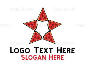 Food Truck - Star Pizza logo design