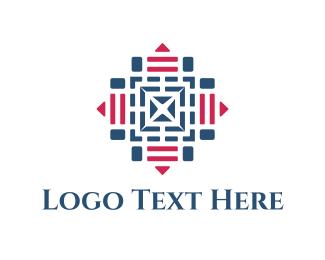 Symmetry - Target Maze logo design
