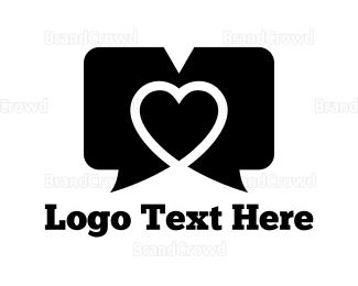 Dating - Dating Chat logo design