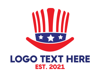 Costume - American Hat logo design