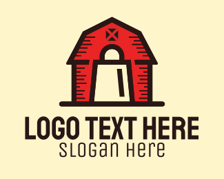 Farm - Farmer's Market Farm Barn logo design