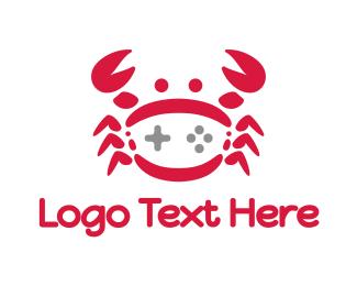 Claw - Red Crab Gaming logo design