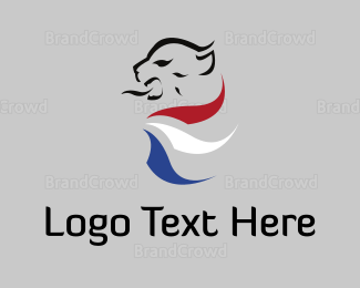 """""""Tricolor Lion"""" by LogoBrainstorm"""