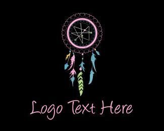 Art Gallery - Pink Dream Catcher logo design
