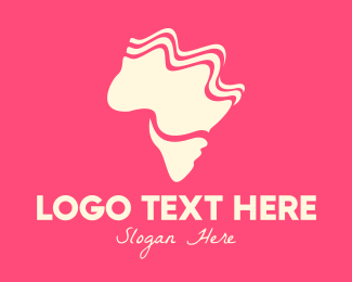 Landmass - Abstract Swirly Landmass logo design