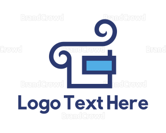 Carpenter - Blue Smoke Couch  logo design