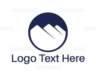 Mountain - White Mountains logo design