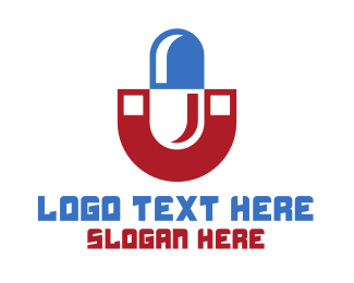 Magnet - Magnet Pill logo design