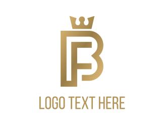 Monarch - Queen & Letters logo design