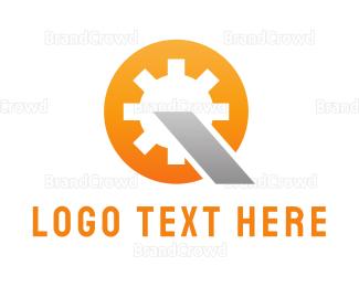 Autoshop - Industrial Gear logo design