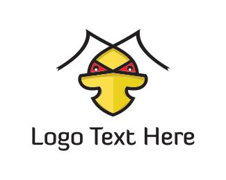 Fighter - Evil Duck logo design