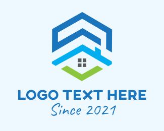 Urban Housing - Urban Home Contractor logo design