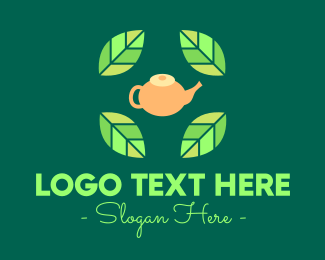 Green Tea - Herbal Tea logo design