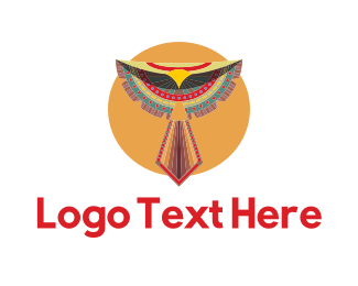 Navajo - Tribal Bird logo design